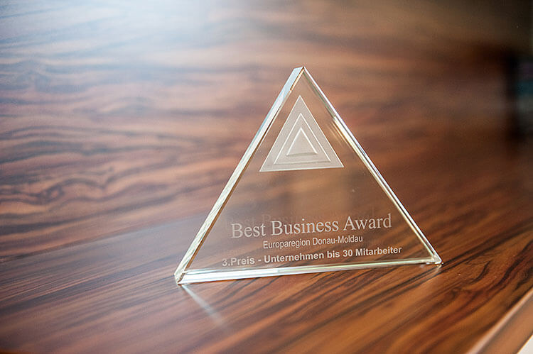 Best Business Award - Kanzlei Gernoth